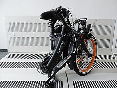 """FALTRAD 20 ZOLL TÜV ZERTIFIZIERTES ELEKTROFAHRRAD KLAPPRAD in der Trendfarbe """"MATT SCHWARZ"""" UVP 2595,00 € SOMMERANGEBOT PEDELEC AFH20 FALTRAD PEDELEC KLAPPRAD 36V 15Ah AKKU ✔150 KM REICHWEITE ✔TOP Kundenservice"""