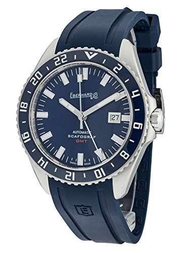 EBERHARD & Co Montre De Bracelet scafograf GMT Date automatique analogique 41038.02 CU