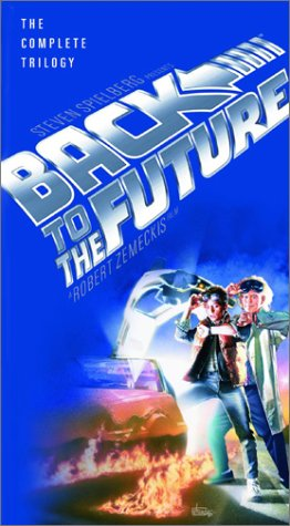Click for larger image of Back to the Future - The Complete Trilogy [VHS]
