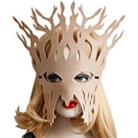 San Bodhi Hohl Frauen Baumstamm Face Eye Mask Masquerade Ball Halloween Cosplay Partei–Beige preisvergleich bei billige-tabletten.eu