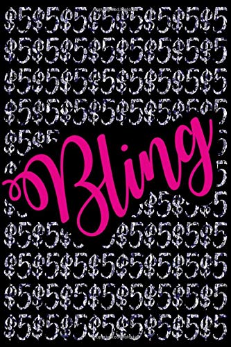 $5 Bling: Lined 120 Page Notebook Journal For The Serious Online Entrepreneur Building Her Empire.