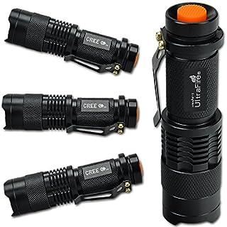 2015!!!Azoraten 7W 300LM CREE Q5 LED mini ZOOMABLE Taschenlampe Handlampe Camping Schwarz Neu [Energieklasse A+]