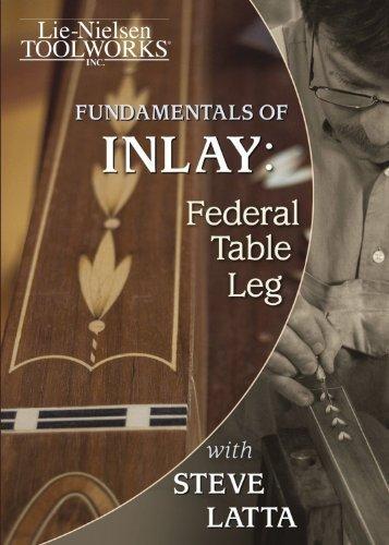 Fundamentals of Inlay - Federal Table Leg - Latta (DVD)