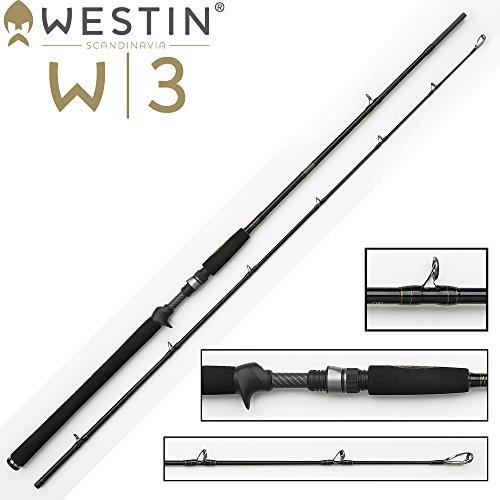 Westin W3 Jerkbait 198cm H 20-80g Jerkrute für Hecht, Zander & Barsch, Angelrute für Jerkbaits & Wobbler, Rute zum Jerken