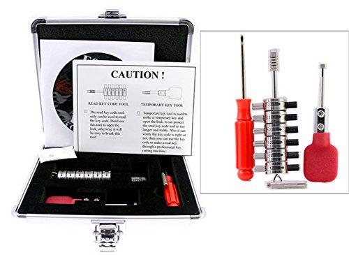 Auto-Lock-Decoder, vollständiges Set von Premium Ford Tibbe Pick-Set mit Aufbewahrungsbox