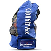 Lionstrike Football, sacco borsa con tasca laterale, alta qualità
