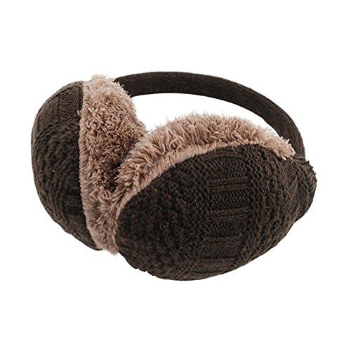 Dizoe-Plush-Earmuffs-Unisex-Cable-Knit-Earwarmer-Headband-Ear-Protector-Adjustable