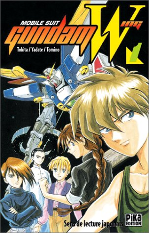 Mobile Suit Gundam Wing Edition simple Tome 1