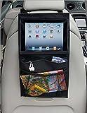 Organiser per sedile auto, con più tasche, tasca protettiva per iPad