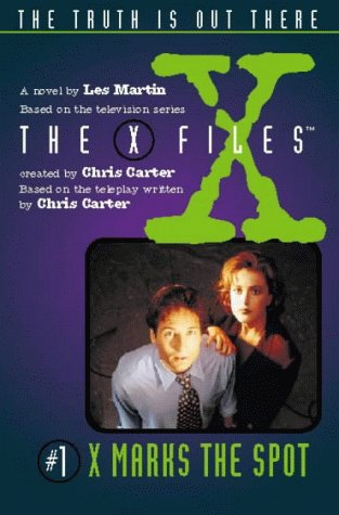 Cover of X Marks the Spot (Junior X-Files)