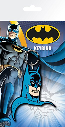 GB Eye Batman Comic, Gesicht Schlüssel Ring, Mehrfarbig -