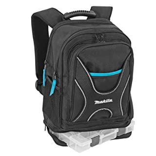 Makita P-72017 Backpack for Tools and Travel with Small Item Organiser