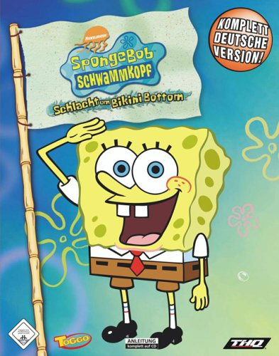 Sponge Bob Schwammkopf: Schlacht um Bikini Bottom (Software Pyramide) - Um Bottom Schlacht Bikini