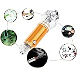Coche purificador de aire por fansheng, coche purificador de aire ambientador eliminar eficazmente el polvo, Pollen, humo, PM2,5bacterias hongos y virus disponible para coche interior de purificación Purificación