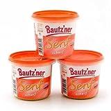 3x Bautzner Senf scharf (3x200 ml)