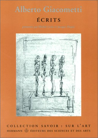 Écrits par Alberto Giacometti