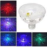 Wasserdichte Unterwasser Schwimmende LED Lampen bunter Swimmingpool/Baby Bad Spielwaren/Brunnen Disco Pool Partei oder Teich Dekorationen 5 Modi