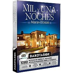 DAKOTABOX - Caja Regalo - MIL Y UNA NOCHES MARAVILLOSAS - 1080 hoteles, balnearios y palacios de hasta 5* en España, Bélgica, Andorra, Francia y Portugal