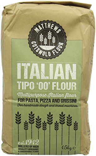Matthews Italian Tipo Flour 1.5 kg (Pack of 5)