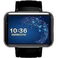 """DM98 WIFI Smart Watch Tarjeta de inserción GPS Display Smart Phone con LED de doble núcleo de la cámara Compatible con Facebook para Smartphone 1.2G 3G QQ GPS App 2.2 """"(Sólo para Android)"""