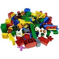 LEGO Bausteine & Bauzubehör 2 Kg Lego Duplo ca 150  Basicsteine und Sondersteine Kiloware bunt gemischt Baukästen & Konstruktion