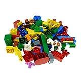 1 Kg Lego Duplo Steine Sondersteine zufällig 70-80 Teile zufällig bunt gemischt