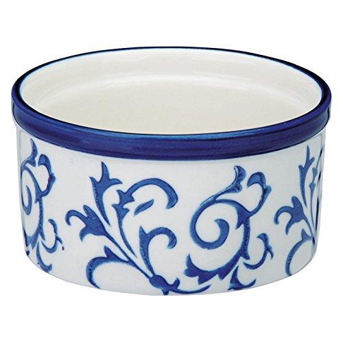 Bia Heritage Souffléförmchen, blau und weiß, Set 4 Bia-souffle