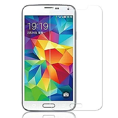 Panzerglas Glasfolie Samsung Galaxy S5 Neo Echt Glas Schutzfolie - 9H Hartglas Vada-Tec