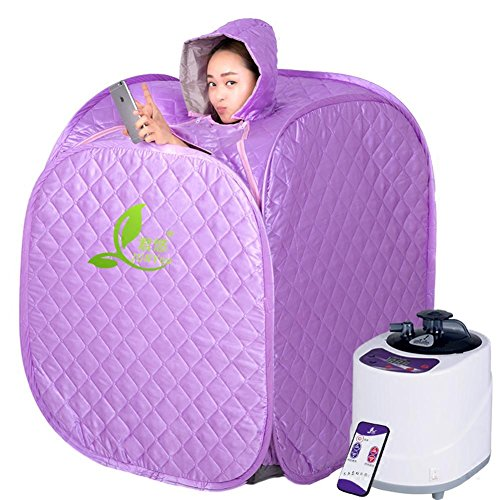 ZXZ-GO Home Sweat Steam Room/Home Dampfsauna Box, Portable Folding Home Therapeutische Dampfsauna...