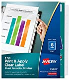 Best Avery Pencil Boxes - Avery Index Maker Clear Pocket Clear Label Dividers Review