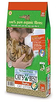 Cat Litter - Cats Best Okoplus Clumping Cat Litter 30l / 15kg