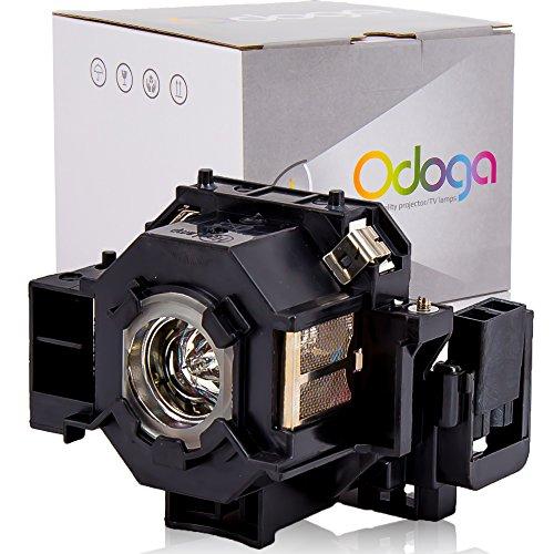 Odoga® Epson V13H010L42 EMP-83 EMP-83H EMP-822H EMP-400W Lampada per Proiettore Compatibile