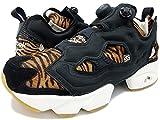 Reebok Instapump Fury JB Damen Running Sneakers (UK 6 US 8.5 EU 39, Black Gold metallic Chalk AQ9213)