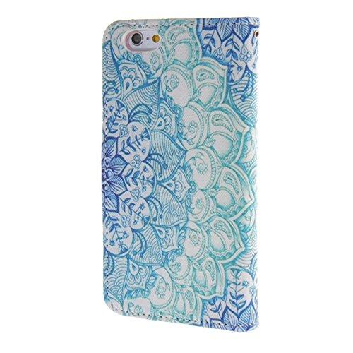 """MOONCASE pour iPhone 6 / 6S (4.7"""") Case Cuir Portefeuille Étui à rabat Case Coque en Housse de Protection YZ20 YZ05 #1228"""