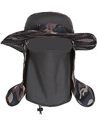Gorra de pesca de verano/Sombreros de protección de rayos UV al aire libre verano/Sombrero para el sol/Visera/Gorra masculina y femenina/Sombrero de pescador/Sombrero del cubo