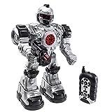 deAO RC Robot bestia Ares con múltiples medidas sonidos luces y efectos incluye dardos de plástico