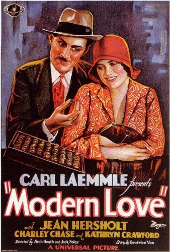 Modern Love Plakat Movie Poster (27 x 40 Inches - 69cm x 102cm) (1929)
