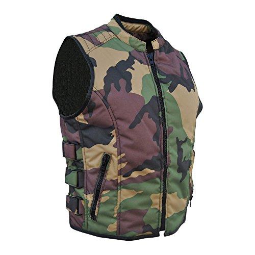 Camouflage Bikerweste (M)