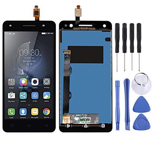 YCZLZ Display-Touch Screen für Lenovo Handy-Zubehör LCD-Bildschirm und Digitizer Vollversammlung for Lenovo Vibe S1 LITE S1LA40 (Schwarz) + Tools (Farbe : Black)