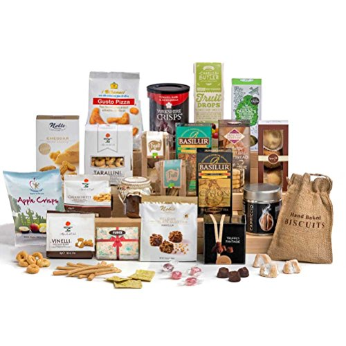 Time for Tea -Non Alcoholic Christmas Hamper Gift Box- FREE UK Delivery