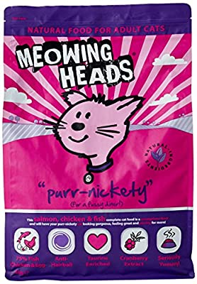 Meowing Heads Cat Food So-Fish-Ticated Salmon, 4kg