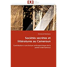 Sociétés secrètes et littératures au cameroun