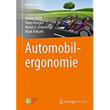 Automobilergonomie (ATZ/MTZ-Fachbuch)