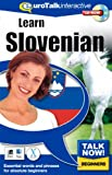 Talk Now Learn Slovenian: Essential Words and Phrases for Absolute Beginners (PC/Mac)