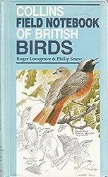 Collins Field Notebook of British Birds