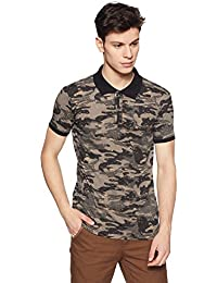 Duke Men's Printed Slim Fit T-Shirt