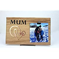 Mum Picture Frame Birthday Sign LOVE Daughter gift