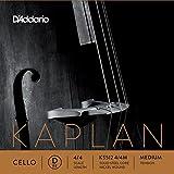D\'Addario Bowed Corde seule (Ré) pour violoncelle D\'Addario Kaplan, manche 4/4, tension Medium