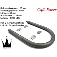 Cafe Racer Loop Scrambler Bobber /Ø 22 x 2 Breite 208 x L/änge 500 mm