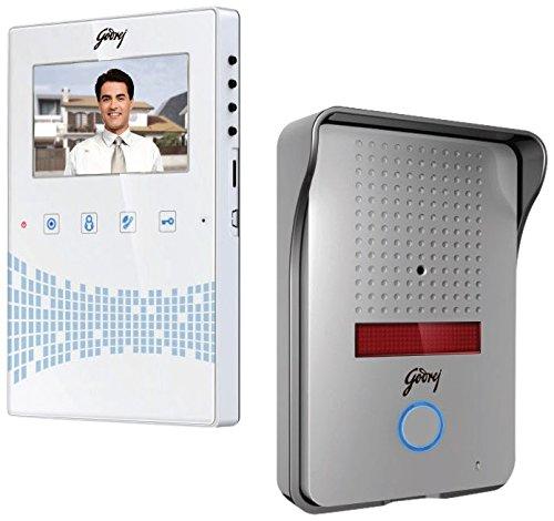 Godrej 4.3-Inch Seethru Video Door Phone Kit (Free Installation)